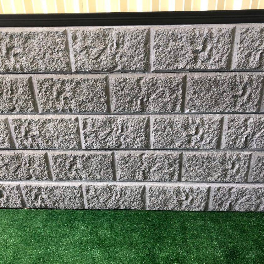 Concrete Sleeper Retaining Wall Sandstone