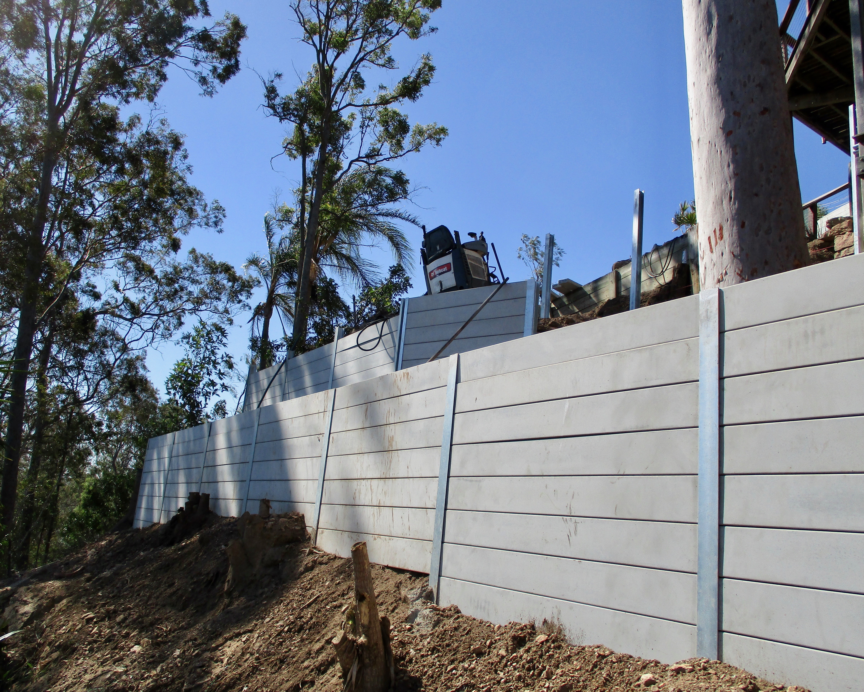 Retaining Wall Jindalee