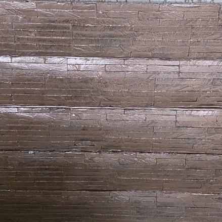 Oak Slate concrete sleeper retaining walls