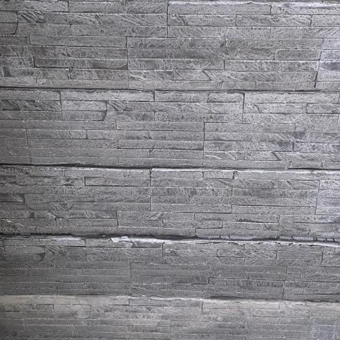 Concrete Sleeper Retaining Wall Charcoal